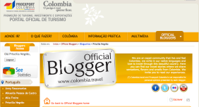 home official blogger